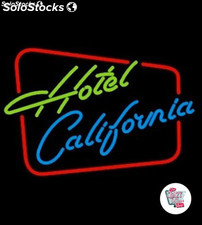 Neon Retro Hotel California