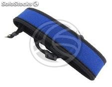 Neoprene camera strap blue 490x45mm (JC16)