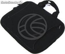 Neoprene sleeve with a handle and compartments for laptop from 7 to 1 (CG11)