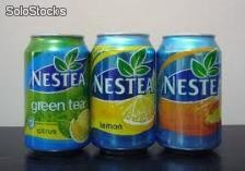 Nestea, Sprite, Freeway Cola Light, Coca cola, red bull,