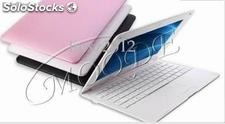Netbook 10 pulgadas android 2.2/win ce 6.0,256 mb, 2gb/4gb wifi + camera