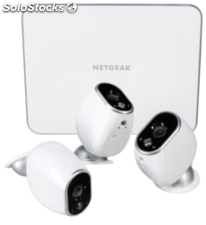 Netgear Arlo VMS3330 Smart Home Webcam Set 3 cámaras HD