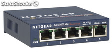 Netgear fs105-300pes unmanaged network switch l2 fast ethernet (10/100) azul