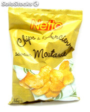 Netto chips ancienne moutarde