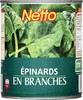 Netto epinards branc 4/4 530G