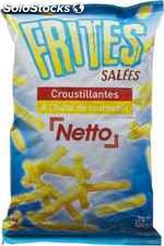 Netto frites salees 150G