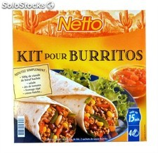 Netto kit p/burritos 620G