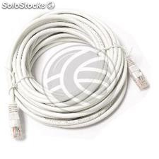 Network cable UTP category 5e ethernet 10m white (RY08)