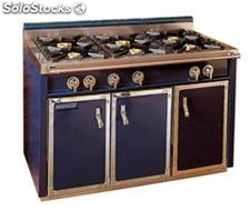 Neutral unit with two doors and 6 burners-without oven
