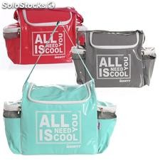 Nevera all you need is cool PVC 3 colores 37x21x33cm