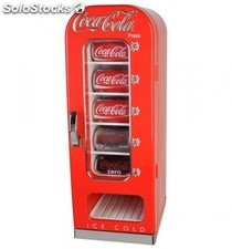 Nevera Dispensadora Latas Coca Cola Retro