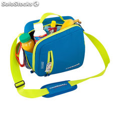 Nevera flexible 5 l azul cool bag