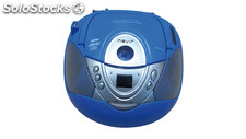 Nevir - radio CD nvr-474U usb MP3 azul