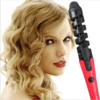 New 2016 Black Red Electric Magic Hair Styling Tool Rizador De Pelo Hair Curler