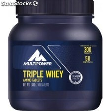 New Multipower Pro Triple Whey Amino Tablets 300 tbl