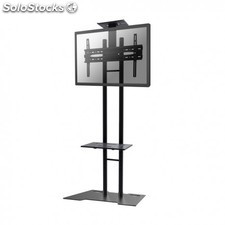 "Newstar - PLASMA-M1700ES 55"""" Fixed flat panel floor stand Negro soporte de pie"