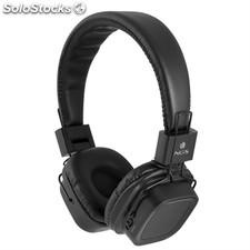 Ngs Auricular+Mic articajelly sd Negro