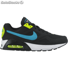 Nike air max ivo (gs) black/blue lagoon black volt unisex 4.5Y