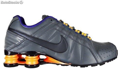 Nike Shox Blanche Et Or