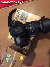 Nikon D800 36.3 mp Digital slr Camera - preto marca novo