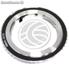 Nikon F lens adapter for Canon EOS (JD34)