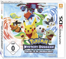 Nintendo 3DS Pokemon Mystery Dungeon Portale in die Unendl.