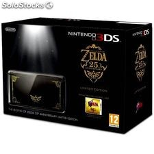 Nintendo 3ds + the legend of zelda: ocarina of time nintendo (2 pcs) negro