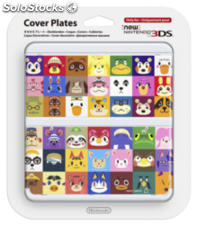 Nintendo New 3DS cover 027 Animal Crossing Caras