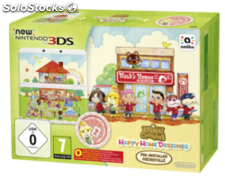 Nintendo New 3DS hw Animal Crossing hhd + CP
