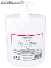 Nirvana Spa Crema Base Corporal 1 L.