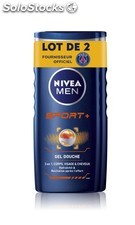 Nivea dch men sport 2X250ML