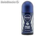 Nivea Desodorante Roll On Man Protege y Cuida 50ml. Nivea