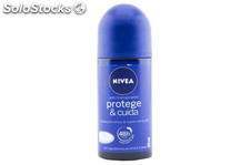 Nivea Desodorante Roll-On Protege y Cuida 50ml. Nivea