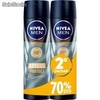 Nivea desodorante spray 200ml.azul stress protect men segunda unidad 70% dto