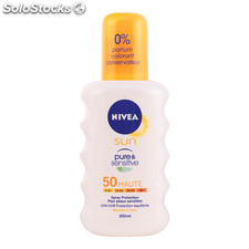 Nivea - SUN pure&sensitive SPF50 spray 200 ml