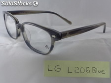 NMontature vista LG Made in Italy Titanio, acetato per lenti progressive astucci