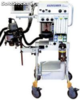 North American Drager Narkomed m Mobile Anesthesia Machine