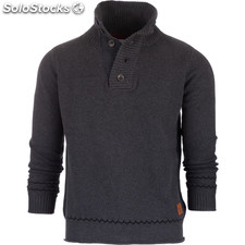 North polar jumper - gris oscuro - the indian face - 8433856052671 - 14-015-01-m