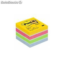 Notas adhesivas post-it mini cubo 51X51MM amarillo