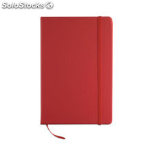 Notebook A5 a righe MO1804-05, rosso