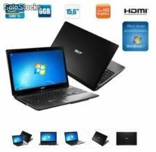 Notebook acer as5750-6831, intel core i5 2430m 2.40 ghz, 4gb, hd 500gb, 15.6, hdmi, tec. numérico, webcam - windows® 7 home basic