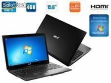 Notebook acer as5750-6874, intel core i3-2330m 2,20 ghz, 4gb, hd 500gb, 15.6', hdmi, teclado numérico, webcam - windows® 7 home basic