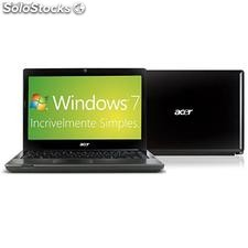 "Notebook Acer c/ Intel Core i5 4gb 500gb led 14"" Windows 7 Premium"