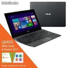 "Notebook Asus Touch X102BA com amd 2GB 320GB Tela 10.1"" Windows 8"