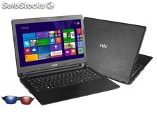 Notebook cce ultra thin, 2gb de ram, 500gb hd