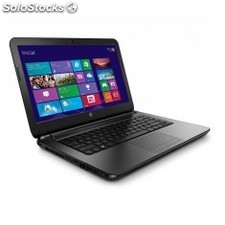 Notebook Hp 240 G3 Core I3-4005U 4Gb 500 Gb W8 Preto J5P90Lt