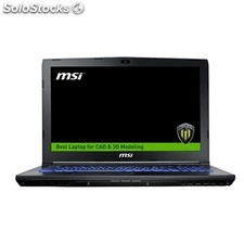 Notebook msi 9S7-16J572-1891 i7-7700 16 GB 256 1 tb M1200