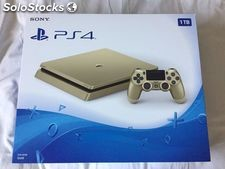 Novo Sony Playstation 4 Slim 1TB Limited Edition Gold Console