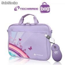 Ns-065-puk kit borsa per notebook ns-065 purple+mouse tm-