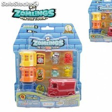 Nuevo zomling serie 5 blister 3 torres + 3 figuras